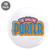 "The Amazing Porter 3.5"" Button (10 pack)"