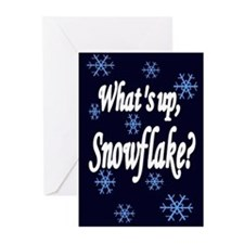 What's Up Snowflake Greeting Cards (Pk of 10)