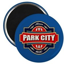 Park City Old Label Magnet