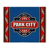 Park City Old Label Throw Blanket