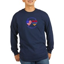 Armenia / USA Country Heritage T