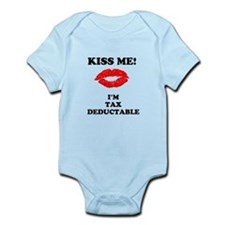 Kiss Me I'm Tax Deductable Infant T-Shirt Bodysuit