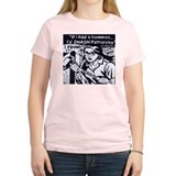 Smash Patriarchy Women's Pink T-Shirt