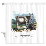 PL 1 Cow Shower Curtain