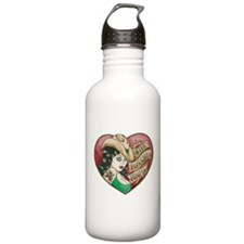 Naughty Pines Derby Dames Logo Water Bottle