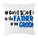 fathergroom2.png Woven Throw Pillow