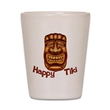 Happy Tiki Shot Glass