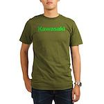 kawigreenback.png Organic Men's T-Shirt (dark)