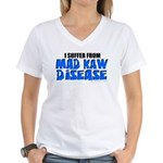 Mad Kaw Disease Women's V-Neck T-Shirt