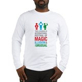 Louisville Magic Festival t-shirt design Long Slee