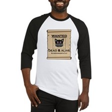Schrodingers Cat Wanted Poster Baseball Jersey