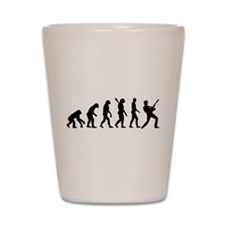 Evolution Rock musician star Shot Glass