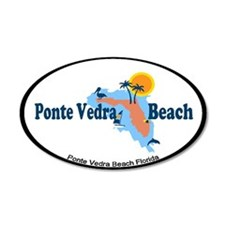Ponte Vedra - Map Design. Wall Decal