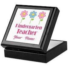 Personalized Kindergarten Teacher Keepsake Box