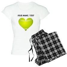 Custom Tennis Heart Pajamas