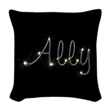 Ally Spark Woven Throw Pillow