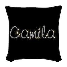 Camila Spark Woven Throw Pillow