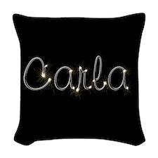 Carla Spark Woven Throw Pillow