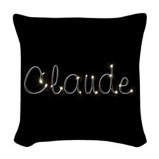 Claude Spark Woven Throw Pillow