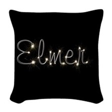 Elmer Spark Woven Throw Pillow