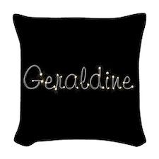Geraldine Spark Woven Throw Pillow