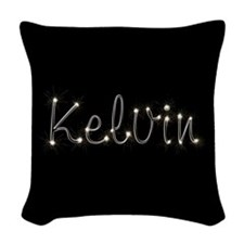 Kelvin Spark Woven Throw Pillow