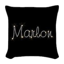 Marlon Spark Woven Throw Pillow