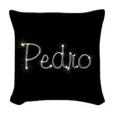 Pedro Spark Woven Throw Pillow