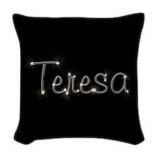 Teresa Spark Woven Throw Pillow