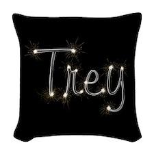 Trey Spark Woven Throw Pillow