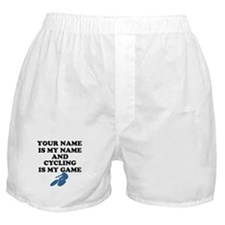 Custom Cycling Is My Game Boxer Shorts