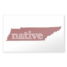 Red Native Decal