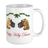Great Dane HollyDanes FN BDL UC Mug