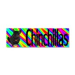 Chinchillas Car Magnet 10 x 3
