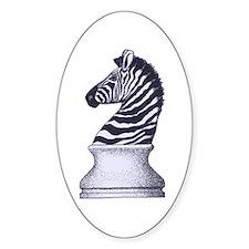 Zebra Knight Decal