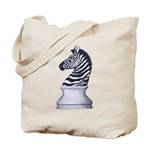 Zebra Knight Tote Bag