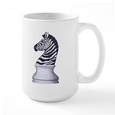 Zebra Knight Mug