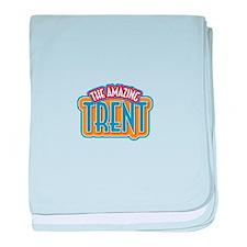 The Amazing Trent baby blanket