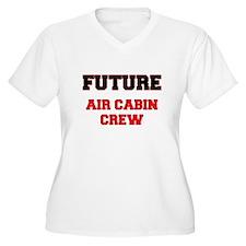 Future Air Cabin Crew Plus Size T-Shirt