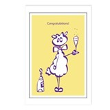 Congratulations Postcards (Pack of 8)