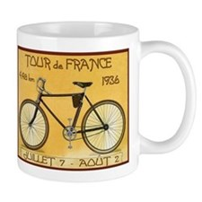 Tour de France, Bicycle, Vintage Poster Small Mug