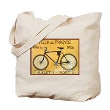 Tour de France, Bicycle, Vintage Poster Tote Bag