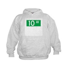 10th Ave., New York - USA Hoodie