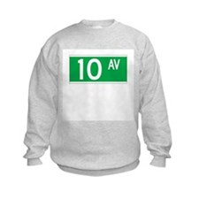 10th Ave., New York - USA Sweatshirt