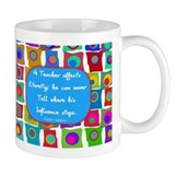 A teacher affect eternity  Tasse