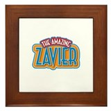 The Amazing Zavier Framed Tile