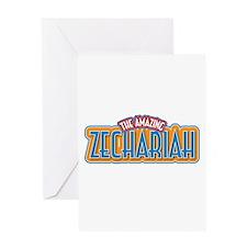 The Amazing Zechariah Greeting Card