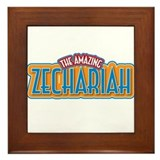 The Amazing Zechariah Framed Tile