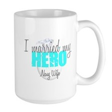 Navy Wife I married my Hero Mug