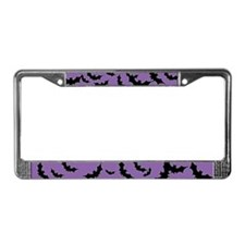 Lots Of Bats License Plate Frame